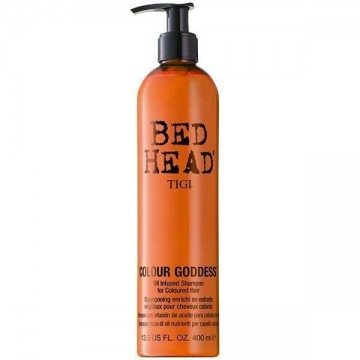 Sampon Tigi BED HEAD Styling Colour Goddess Oil Infused pentru par colorat 400ml