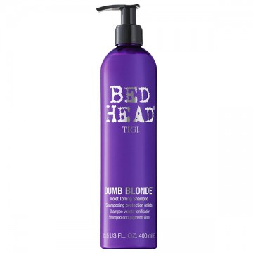 Sampon pentru par vopsit Tigi Bed Head Dumb Blonde Purple Toning 400ml