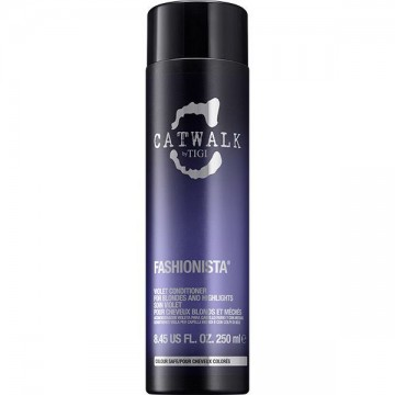 Conditioner Tigi Cat Walk Fashionista Violet pentru par blond 250ml