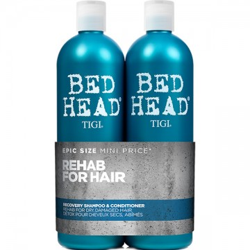Kit Sampon si Conditioner Tigi Bead Head Styling Urban Recovery pentru par blond