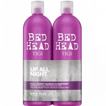 Kit Sampon Si Conditioner Tigi Bed Head Styling Fully Loaded Tween Duo 2x750ml