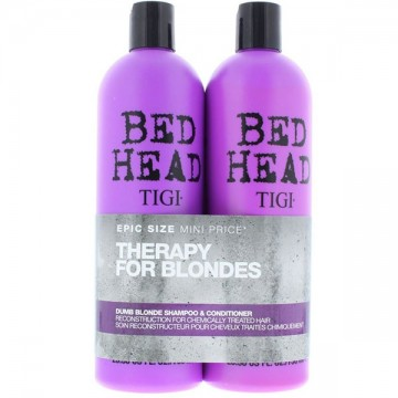 Set Tigi Bed Head Dumb Blonde Sampon+Balsam 2x750ml