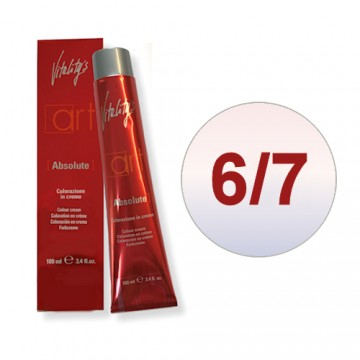 Vopsea de par permanenta crema Vitality's  Art Absolute Moon 6/7 100ml
