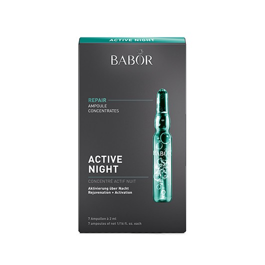 Fiole Babor Active Night Fluid regenerante 7x2ml