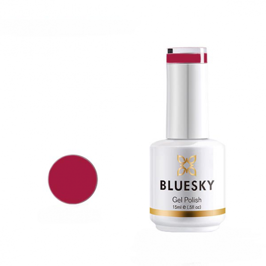 Lac de unghii semipermanent Bluesky UV Dark Pink 15ml
