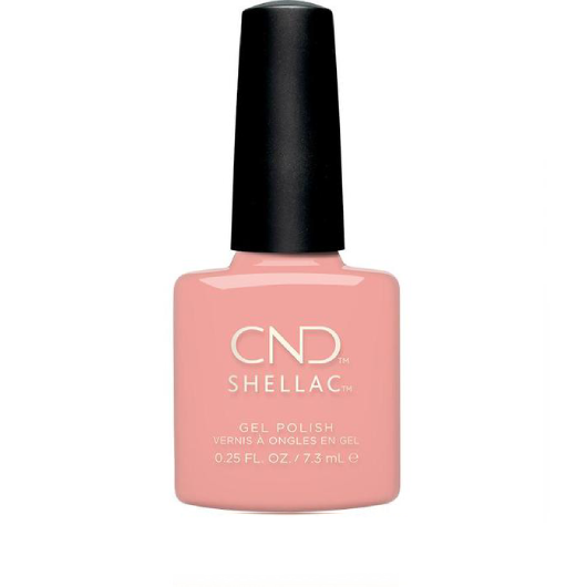 Lac unghii semipermanent CND Shellac UV Soft Peony 7.3ml