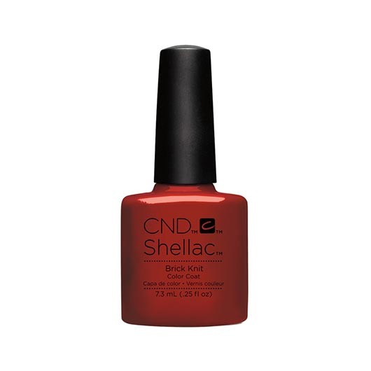 Lac unghii semipermanent CND Shellac Brick Knit 7.3ml