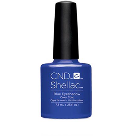 Lac unghii semipermanent CND Shellac Blue Eyeshadow 7.3ml