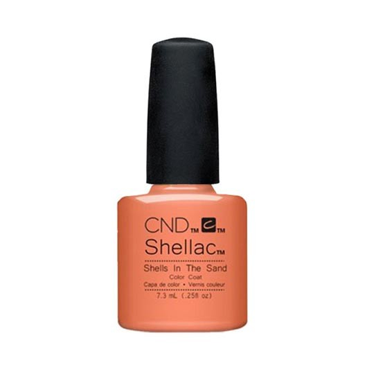 Lac unghii semipermanent CND Shellac Shells In The Sand 7.3ml