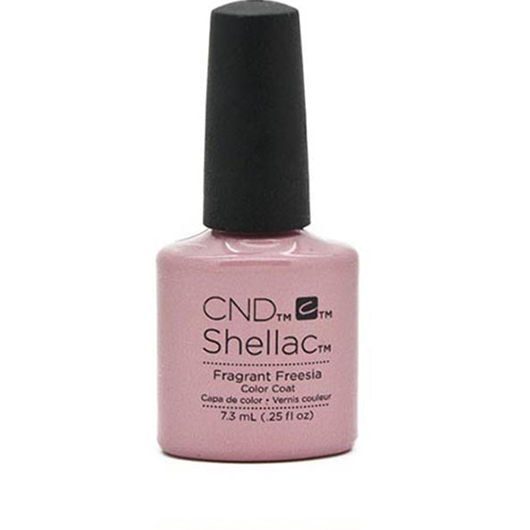 Lac unghii semipermanent CND Shellac Jumbo Fragrant Fresia 15ml