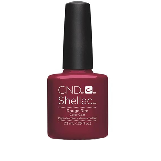 Lac unghii semipermanent CND Shellac Rouge Rite 7.3ml