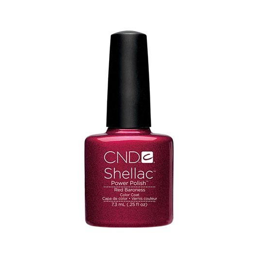 Lac semipermanent CND Shellac Red Baroness 7.3ml