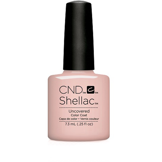 Lac unghii semipermanent CND Shellac Uncovered Nude Collection 7.3ml