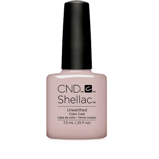 Lac unghii semipermanent CND Shellac Unarthed Nude Collection 7.3ml