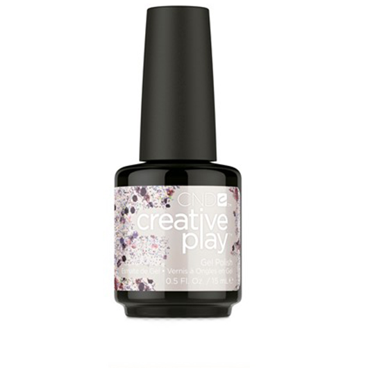 Lac unghii semipermanent CND Creative Play Gel #513 Not To Be Mist 15ml