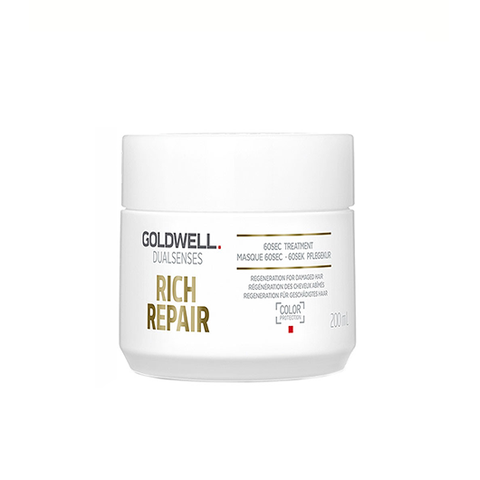 Tratament de par Goldwell Dual Senses Reach Repair 60s cu efect reparator 200ml