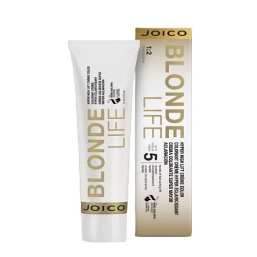 Vopsea de par permanenta Joico Blonde Life Hyper High Lift Color Clear Booster 74ml