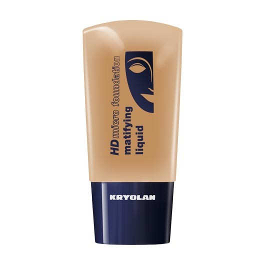 Fond de ten matifiant Kryolan HD Micro Foundation matifing liquid 250