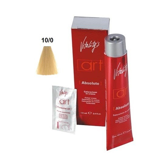 Vopsea permanenta de par Vitality's Art Absolute cu amoniac 10 100ml