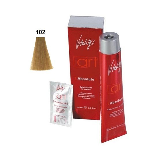 Vopsea permanenta de par Vitality's Art Absolute cu amoniac 102 100 ml